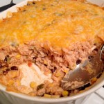 Southwest Chicken and Rice Bake