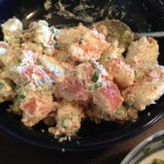 Easy Bacon Ranch Potato Salad